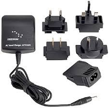 AC Travel Charger for Iridium 9575 extreme, 9555 and 9505A satellite phone