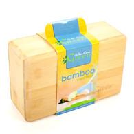 Wai Lana Green™ Bamboo Yoga Block