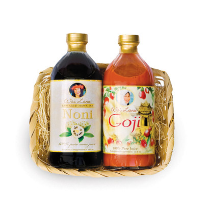 16 oz Noni Juice & 16 oz Goji Juice