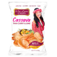 Wai Lana Cassava Chips: Thai Curry with Lime  (3 oz)