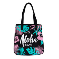Stylish 100% Organic Cotton Tropical Aloha Bag