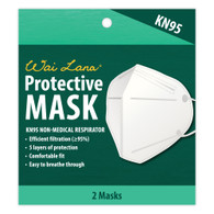 KN95 Respirator Mask - Pack of 2