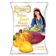 Yellow Sweet Potato Chips: Smoky Barbeque (3.5 oz) - 12 Pack
