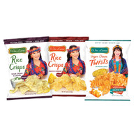 Rice Crisps and Vegan Cheese Twists (12 pack) - Mix n Match