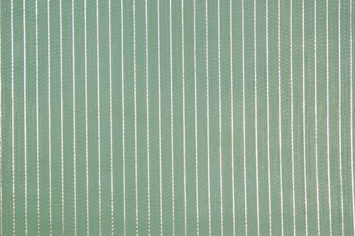 1970s Vintage Wallpaper Retro Aqua Green Stripe Foil
