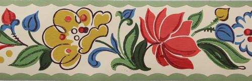 Trimz Vintage Wallpaper Border Provincial