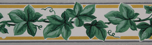Trimz Vintage Wallpaper Border Ivy