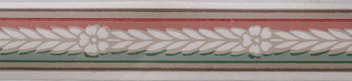 Trimz Vintage Wallpaper Border Colortone Green