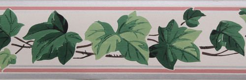 Trimz Vintage Wallpaper Border Ivy Vine