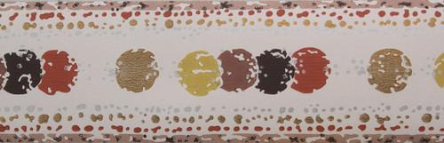 Trimz Vintage Wallpaper Border Dot