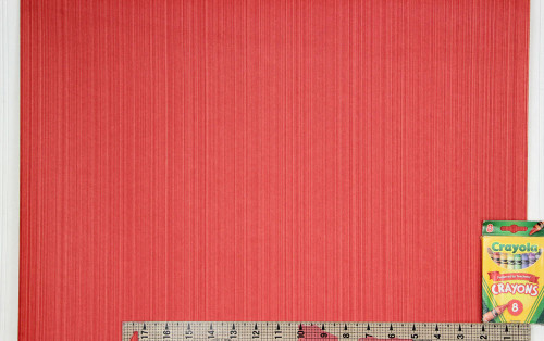1960s Vintage Wallpaper Red Stripe