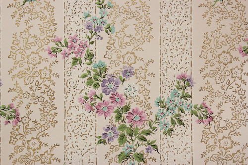 1950s mid century wallpaper