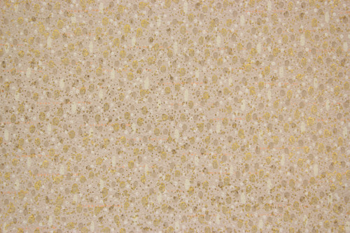 1950s Vintage Wallpaper Brown with Gold Metallic Accents
