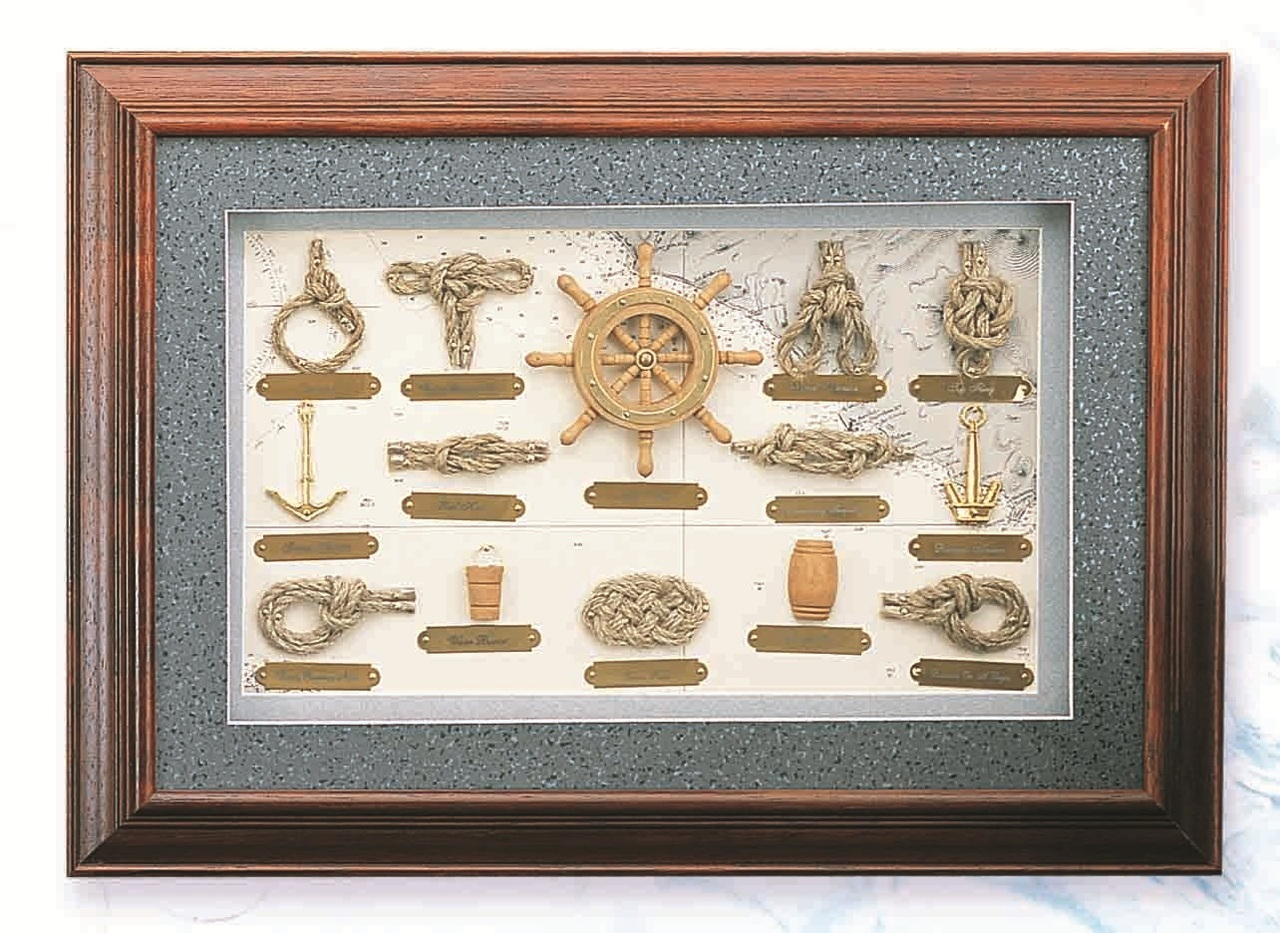 If Your Style Is A Little More Traditional The Deluxe Nautical Knot Board Will Find A Perfect Home On Your Nautical Decor Bathroom Wall