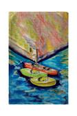 Kayaks Beach Towel
