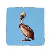 Pelican Coasters - Set of 4