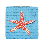 Coral Starfish Coasters - Set of 4