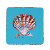 Scallop Coasters - Set of 4