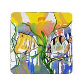 Angel Fish Coasters - Set of 4