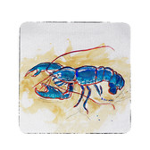 Blue Lobster Coasters - Set of 4