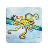 Crazy Octopus Coasters - Set of 4
