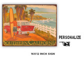 Salt Creek Personalized Metal Sign