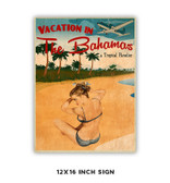 Vacation VI Metal Sign