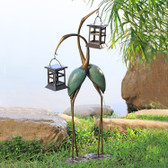 Stylized Crane Pair LED