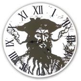 Blackbeard Clock