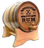 Anchor Rum  Oak Barrel - Personalized