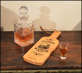 Scotch Ship  Bottle Server - Personalized