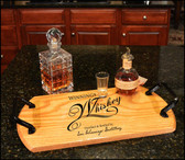 Whiskey Bistro Serving Tray - Personalized