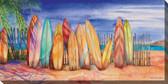Surfs Up Outdoor Canvas Art