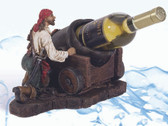 Pirate Cannon Wine Bottle Holder