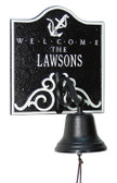 Personalized Anchor Welcome Bell