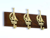 Brass Sailboat Key Hanger