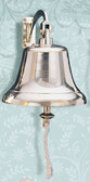 Brass Ships Bell with Bracket - 3 sizes available