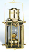 Brass Cargo Oil Lantern 15""