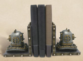 Decorative Vintage Diving Helmet Bookends