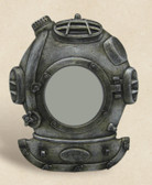 Antique Nautical Diving Helmet Picture Frame
