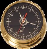 "Downeaster Clock, Blue - 6"""