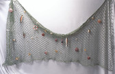 Decorative Fish Net with Shells and Accessories