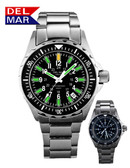 Illuminating Glow Micro Gas 200 Meter Water Resistant Nautical Watch