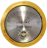 Cape Cod Premium Indoor/Outdoor Temperature Gauge Weather Instrument