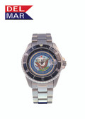Del Mar Men's 200M Stainless Steel Military Sport Dive Watch - U. S. Navy