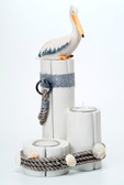 Pelican Trio Candle Holder