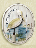 Nautical Sign - Pelican Wall Plaque