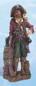 Pirate with Rifle Decorative Figurine 25""