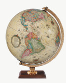 "Replogle Carlyle 12"" Antique Illuminated Globe"