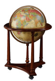 "Replogle Lafayette 16"" Antique Illuminated Globe"